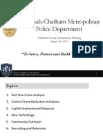 2016 Savannah Crime Statistics | Savannah-Chatham Metro Police