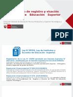 PPT Registro y Visación de Títulos29MARZO2016