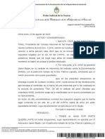 Inadi unico querellante en la investigación por los dichos de Gustavo Cordera