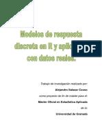 Modelos de Respuesta Discreta en R y Aplicación