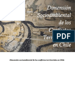 Dimensión Socioambiental de Los Conflictos Territoriales en Chile