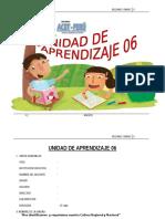 UNIDAD DE APRENDIZAJE  2°  AGOSTO  - 2015