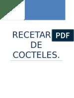 Recetas de Cocteles