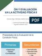 evaluación de la condición física 2
