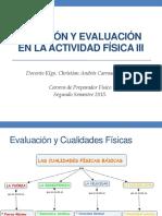 evaluación de la condición física 1