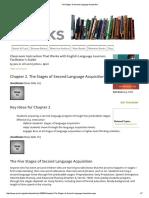 SLA Second Language Acquisition