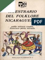 Muestrario Del Folklore Nicaragüense