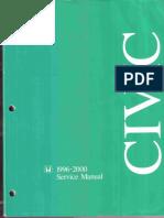 Honda Civic 1996 - 2000 Service Manual.pdf