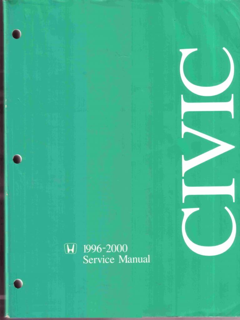 Honda civic 1996 2000 service manualpdf airbag transport fandeluxe Images