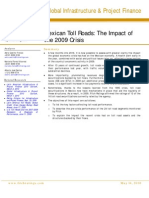 The Impact of 2009 Crisis on Mexican Toll Roads