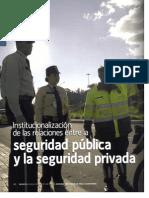 Institucionalización de las relaciones entre la seguridad pública y la seguridad privada Orozco y Buitrago 2009