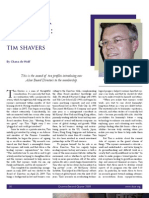 Tim Shavers Profile
