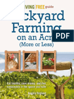 backyard farming on a acre or less