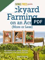 backyard farming on a acre or less