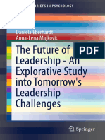 (SpringerBriefs in Psychology) Daniela Eberhardt, Anna-Lena Majkovic (Auth.)-The Future of Leadership - An Explorative Study Into Tomorrow's Leadership Challenges-Springer International Publishing (20