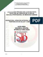 Guia de Dinamica Interculturalida