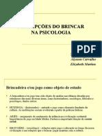 CONCEPÇÕES DO BRINCAR NA PSICOLOGIA