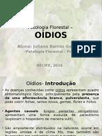 Patologia Florestal – Oidio