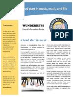 WunderKeys Parent Information Guide