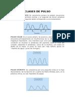 Clases de Pulso