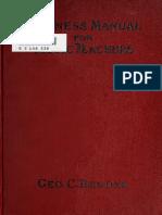 Business Manual for Music Teachers