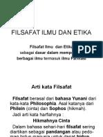 Filsafat Ilmu Dan Etika (1)