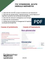 paediatric glomerolonephritis and nephrotic