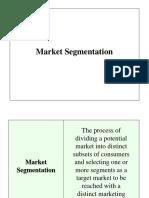 Market Segmentation Quiz 1 CB