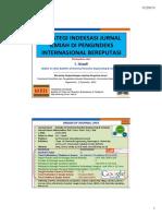 DPPM UII-Internasionalisasi Jurnal UII 2des2013 Istadi