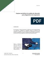 Equipos Portatiles Para Medida de Vibraciones en Maquinaria PDF 2 Mb