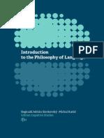 Slavkovsky Kutas Introduction to Philosophy of Language