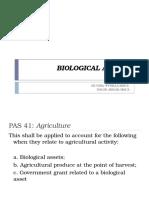 Biological Assets1