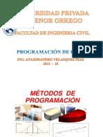 1. Programacion General