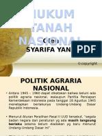 4 Hukum Tanah Nasional Agraria