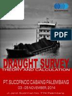 Brosur Pelatihan Draught Survey SCI Palembang