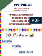 Presentacion Familia, Escuela y Sociedad en El Escenario de La Divers Id Ad Sexual