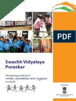 Swachh Vidyalay Puraskar2016 Guidelines(1)