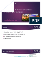 Container NFV + DPDK