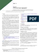 An+ílisis granulom+®trico de agregados gruesos y finos - C136C136M