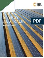 Clean Energy Australia Report 2015