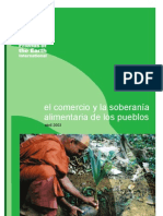 El comercio y la soberanía alimentaria de los pueblos