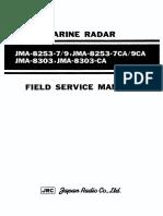 JMA-8252 Service Manual