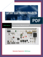 SEED Group - Electronics Projects List