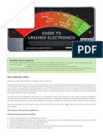 Guide to Greener Electronics (Greenpeace)