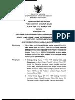 PERMENPAN No 10 Thn 2006 Ttg Perubahan Atas Kepmenpan No 19 Thn 2000 Ttg Jabatan Fungsional Sanitarian Dan AK