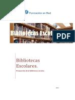 Promocion de La Biblioteca Escolar
