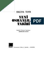 Ebuzziya Tevfik - Yeni Osmanlılar Tarihi I-II (Haz. Şemsettin Kutlu)