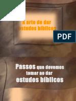 A Arte de Dar Estudos Bíblicos