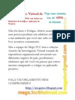 Investigação Virtual de Organizações - Cursos