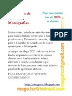 Ampliação de Monografias - Cursos